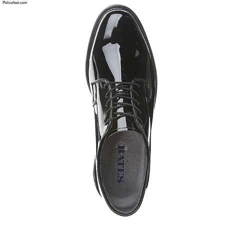 Bates Shoes High Gloss Lites Uniform Oxford Free