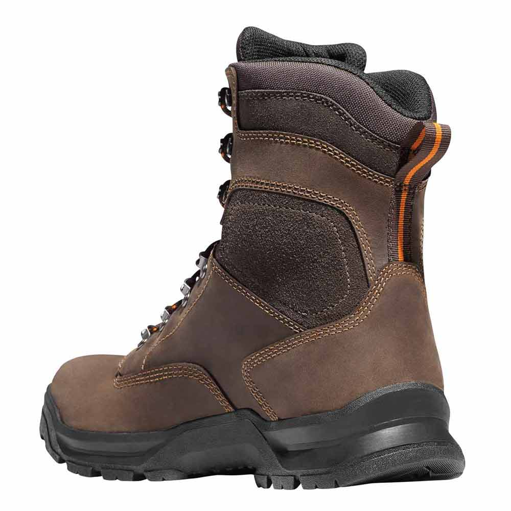 Danner Crafter 8 Inch Brown Safety Toe Waterproof Work Boot