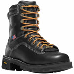 Danner Women's Quarry 7-inch Black Safety Toe Waterproof Work Boot