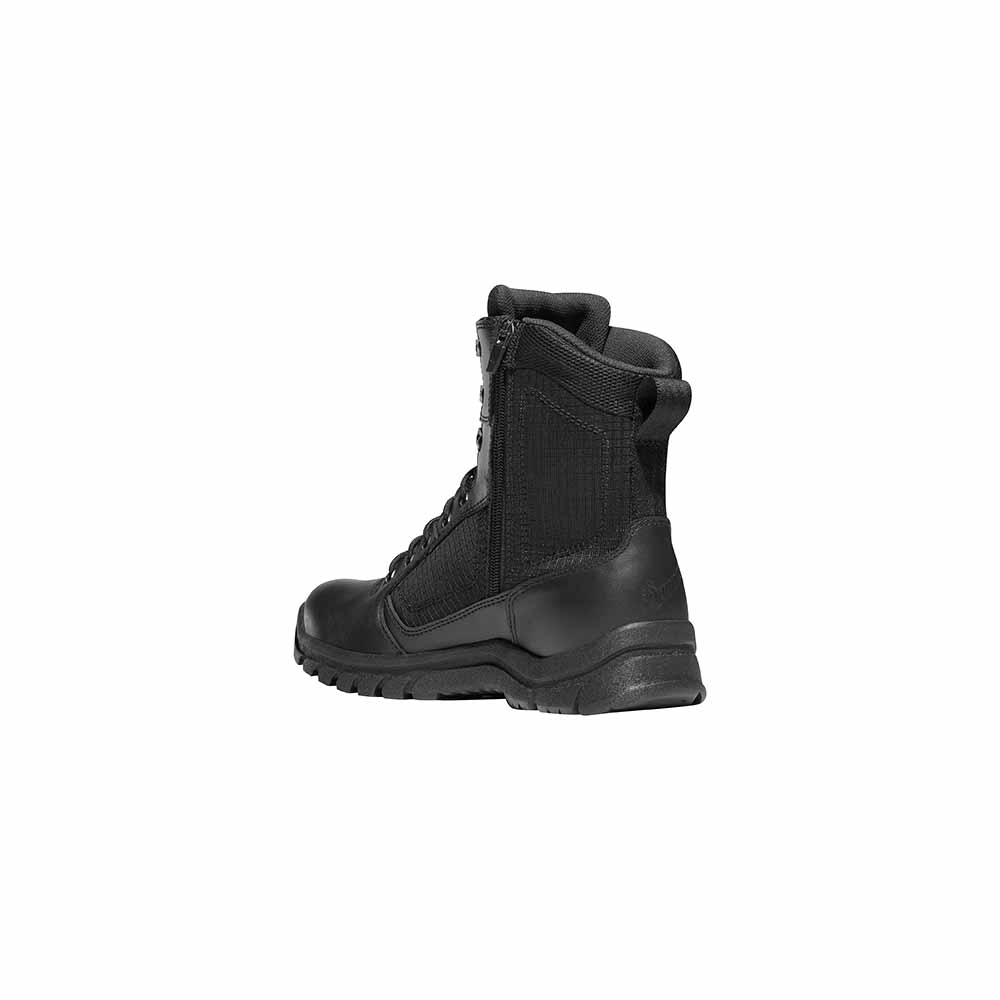Danner Lookout Side Zip 8 Inch Black Waterproof Duty Boot
