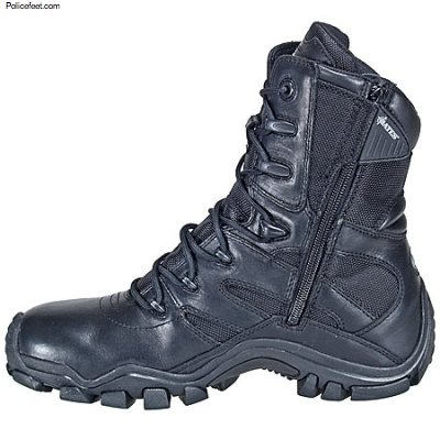 Bates Mens 8 Inch Delta Zip Tactical Boot Free Shipping