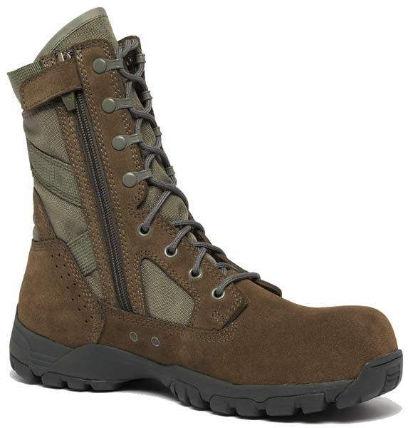 Sage Green Belleville Flyweight Composite Toe Military Boots