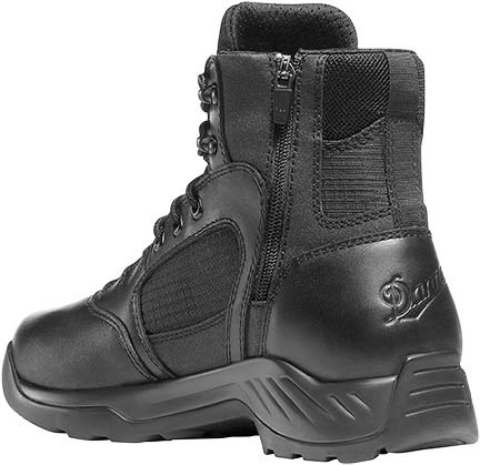 Danner 28017 Kinetic Black Waterproof Side Zip Tactical Uniform Boots