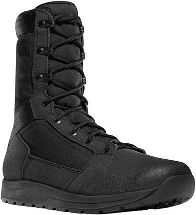 Danner 50120 Tachyon 8 Inch Lightweight Black Uniform Boots