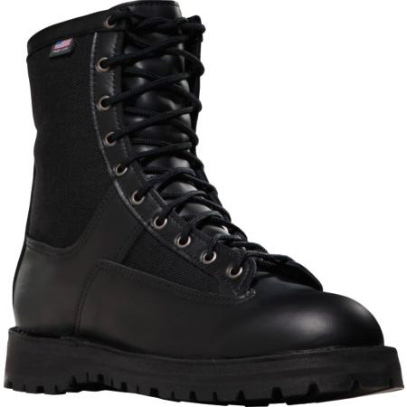 Danner Boots Acadia 8 Inch Black Uniform Boot Free
