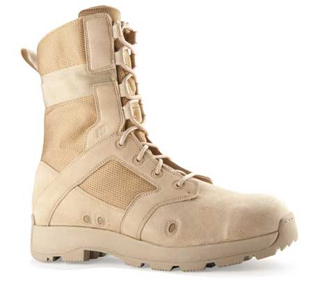 New Balance 453MTN DesertLite Tan 8 Inch Military Boot - Free ...