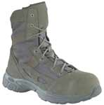 Reebok RB291 Womens Hyper Velocity 8-inch Sage Zip Safety Toe Military Boots