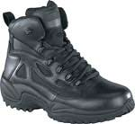 Reebok RB8688 Rapid Response 6 inch Side Zip Black Waterproof Tactical Boots