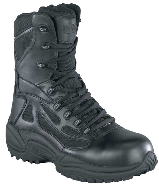 Reebok Rapid Response Black 8 Inch Zip Waterproof Tactical