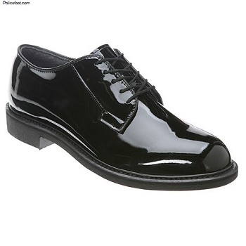 Bates Shoes: Men's High Gloss Lites Uniform Oxford 942