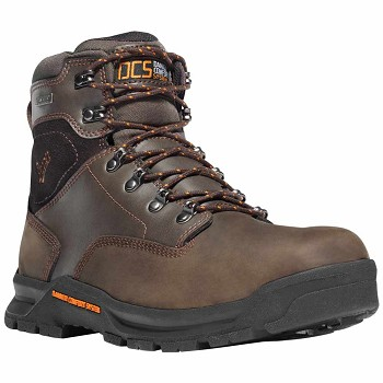 Danner Crafter 6-inch Brown Waterproof Work Boot