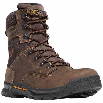 Danner Crafter 8-inch Brown Safety Toe Waterproof Work Boot