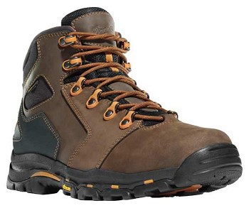 Danner Vicious 4.5-inch Brown Waterproof Safety Toe Work Boot