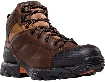 Danner Corvallis 5-inch Waterproof Brown Safety Toe Work Boot