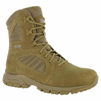 Magnum Response III 8-inch Desert Tan Side-Zip Duty Boot