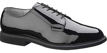 Bates 0007 High Gloss Leather Sole Uniform Oxford