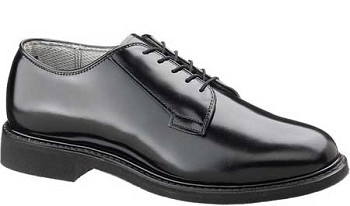 Bates 0932 Lites Black Leather Uniform Shoe