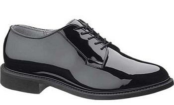 Bates 0941 Lites Black High Gloss Oxford