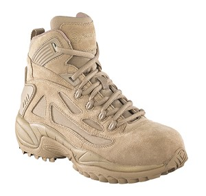Converse C8694 Rapid Response Desert Tan 6-inch Zip Safety Toe Military Boot