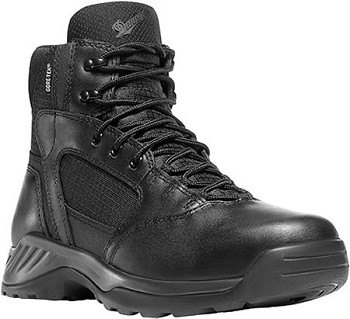 Danner 28017 Kinetic 6-inch Black Waterproof Side Zip Tactical Boot